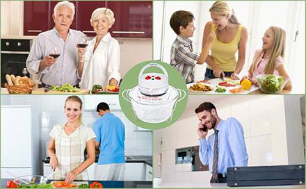 Το aroma robot® είναι ιδανικό για όλους